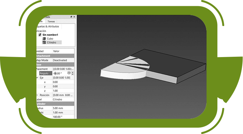 Impresión 3D con niños dimensiones de piezas