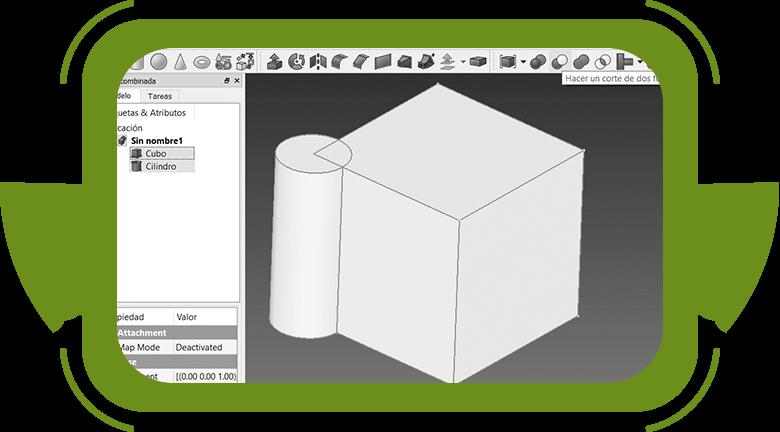 Impresión 3D con niños figuras geométricas
